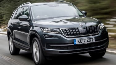 Tow car of the year 2018 - Skoda Kodiaq grey front