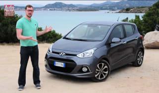 Hyundai i10 video review
