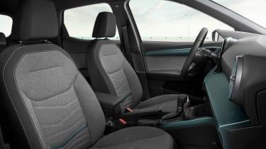 SEAT Arona facelift - seats