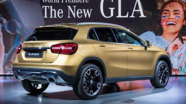 Mercedes GLA - show rear