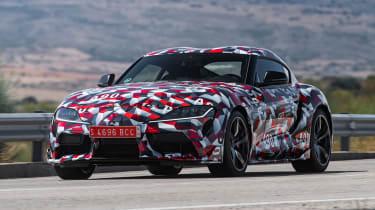 Toyota Supra prototype - front action