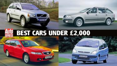 Best cars under £2,000