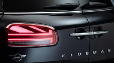 MINI Clubman - studio rear light