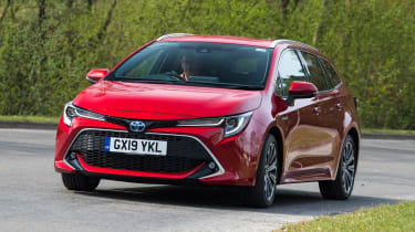 Toyota Corolla Touring Sports - front cornering