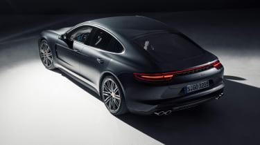 Porsche Panamera - studio rear/above