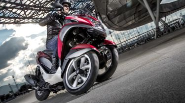 Best 125cc bikes - Yamaha Tricity