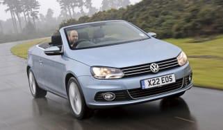Volkswagen Eos Bluemotion action