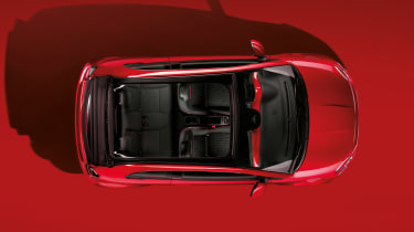 Fiat 500(RED) - above 2