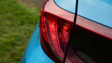 Toyota Prius - rear light detail
