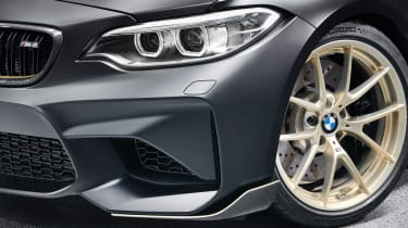 BMW M Performance Parts M2 front quarter