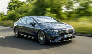 New Mercedes EQS 2021 review - front