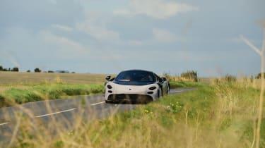 McLaren 650S replacement - spyshot front distance