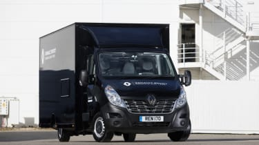 Renault Master F1 conversion - front