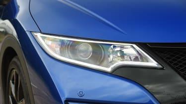 Honda Civic Sport - front light detail
