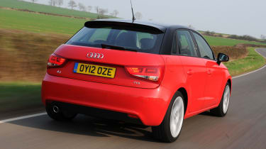 Audi A1 Sportback rear tracking
