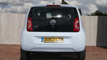 Used Volkswagen up! - full rear