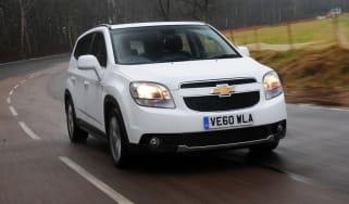 Chevrolet Orlando front