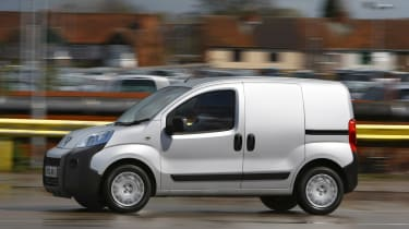 The Bipper is a good urban run-about, but competitors such as the Ford Fiesta van is much nicer to drive.