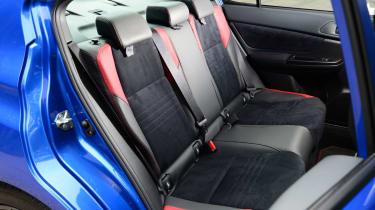 Subaru WRX STi 2014 - rear seats