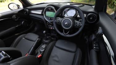 MINI Cooper S Convertible - interior