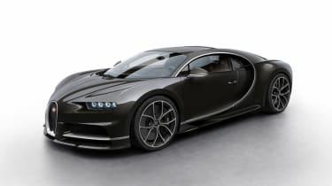 Bugatti Chiron - black