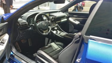 Lexus RC - Paris - Interior