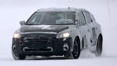 Winter testing in Arjeplog - Ford Focus testing