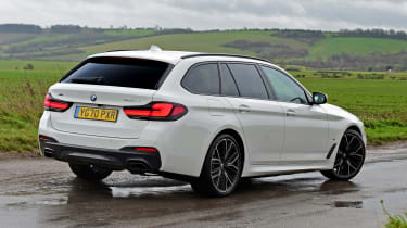 BMW 530d Touring - rear static