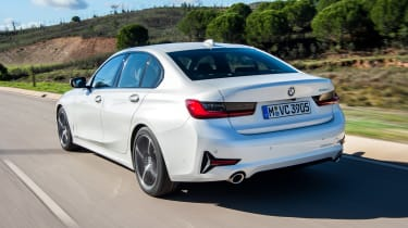 BMW 320d - rear