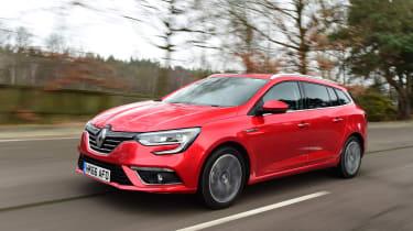 Renault Megane ST - front tracking