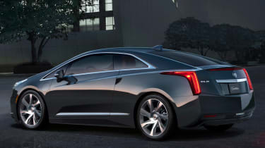 Cadillac ELR rear