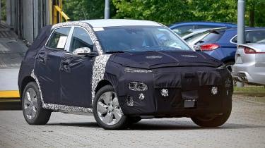 Hyundai Kona EV front three quarter