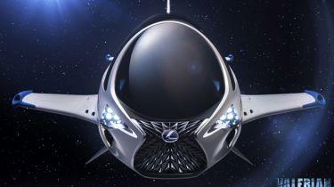 Lexus SKYJET front
