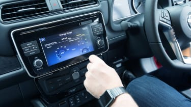 Nissan Leaf long termer first report - infotainment
