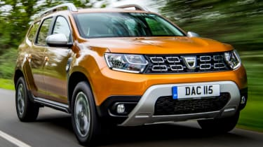 New 2018 Dacia Duster front