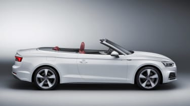 New Audi A5 Cabriolet 2017 side