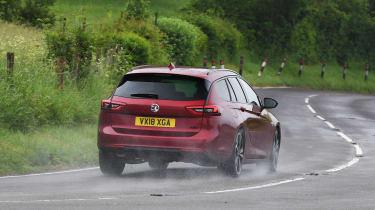Vauxhall Insignia Sports Tourer Elite Nav - rear action