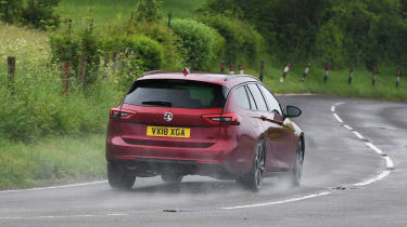 Vauxhall Insignia Sports Tourer Elite Nav - rear action