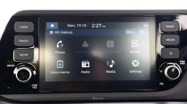 Hyundai i20 - screen