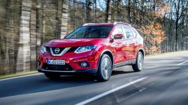 Nissan X-Trail 2.0 diesel - front tracking