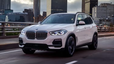 BMW X5 - Front tracking