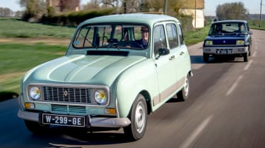 Renault 4 and 5 road