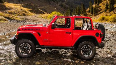 New Jeep Wrangler - side