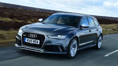 Audi RS6 - front tracking