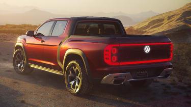 Volkswagen Atlas Tanoak concept - rear