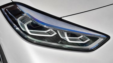 New BMW 1 Series 2019 headlight