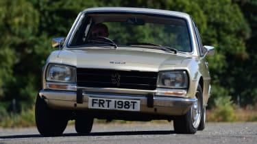 Peugeot 504 - front cornering