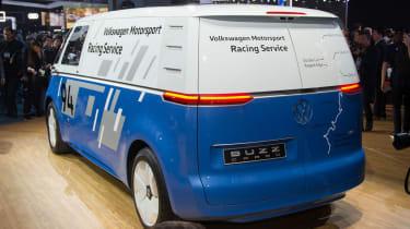 Volkswagen I.D. Buzz Cargo - LA rear