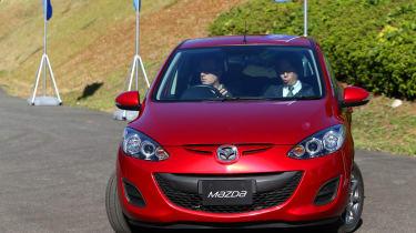 Mazda 2 EV 2013 front action