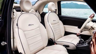 Fiat 500 Riva - seats